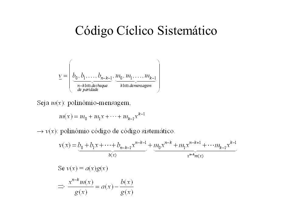 Código Cíclico Sistemático