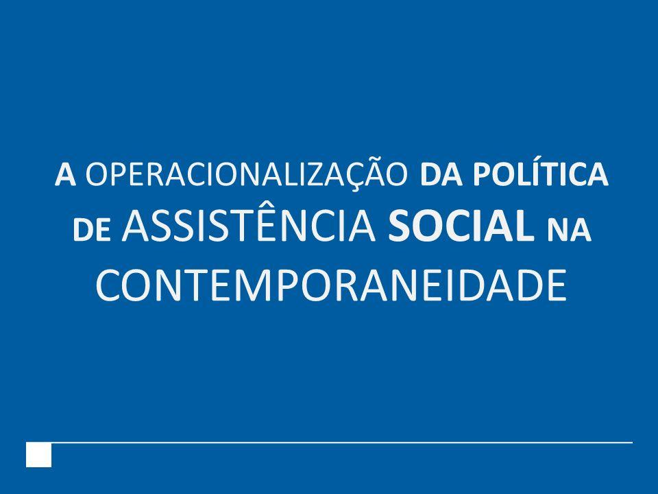 Até 1930 pobres foram assistidos inicialmente pelos fiéis e/ou instituições da Igreja Católica Esfera privada A partir de 1930 O Estado reconhece a questão social A assistência passa a ser objeto de planejamento por parte do governo NO BRASIL...