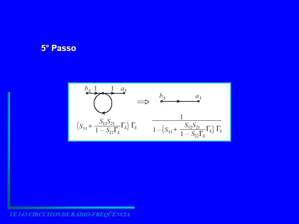 TE 143 CIRCUITOS DE RÁDIO-FREQÜÊNCIA 4.4.6 Generalização dos parâmetros S
