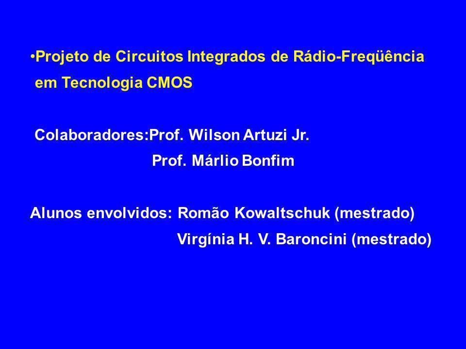 PERSPECTIVAS FUTURAS Integração de sistemas para comunicação sem fio – Antenas integradas – Software radio