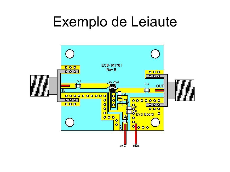 Exemplo de Leiaute