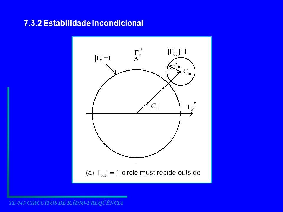 7.3.2 Estabilidade Incondicional