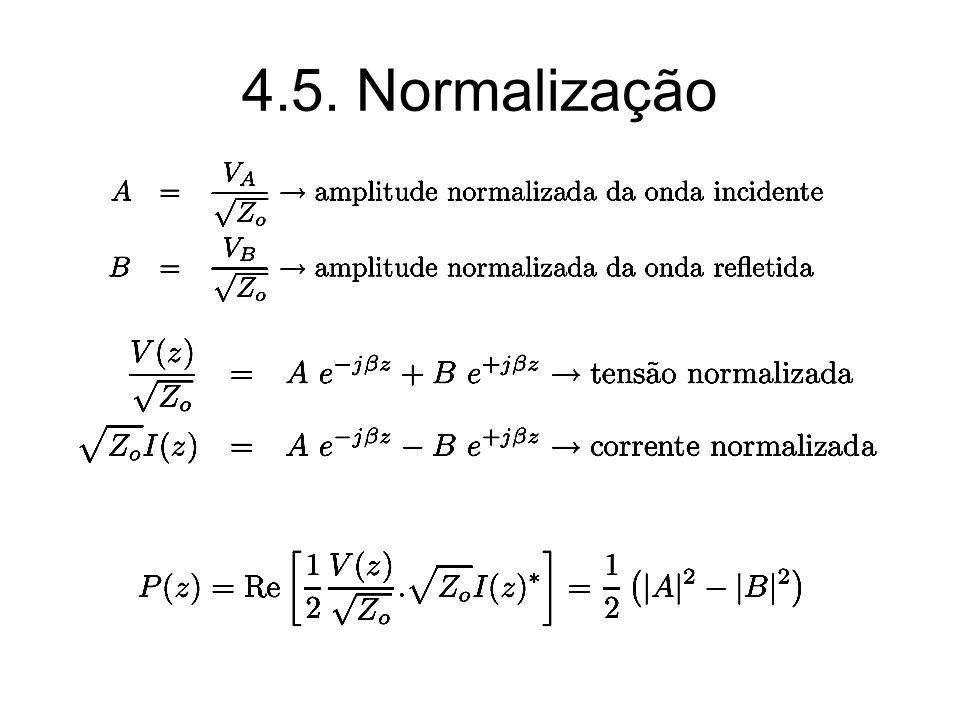 4.5. Normalização
