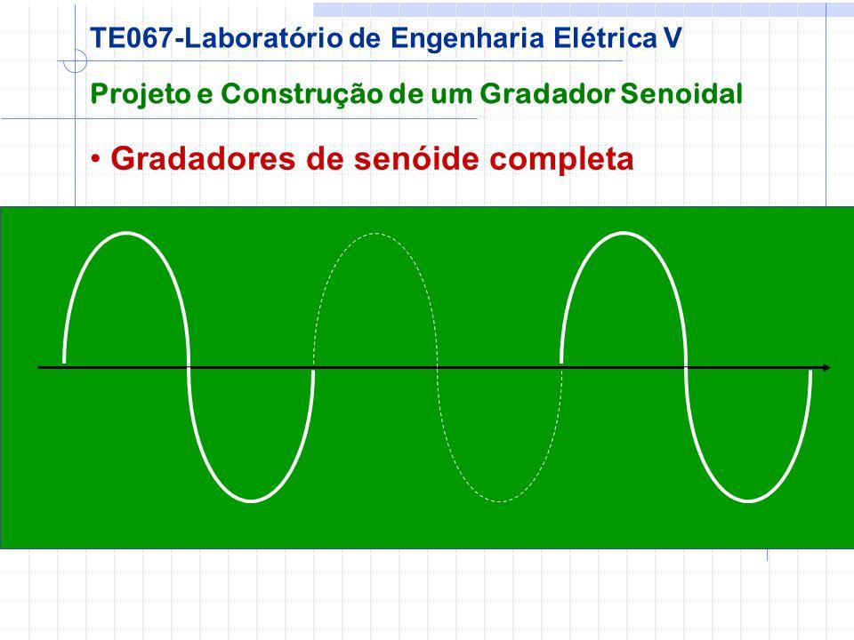 Gradadores de senóide completa Projeto e Construção de um Gradador Senoidal TE067-Laboratório de Engenharia Elétrica V