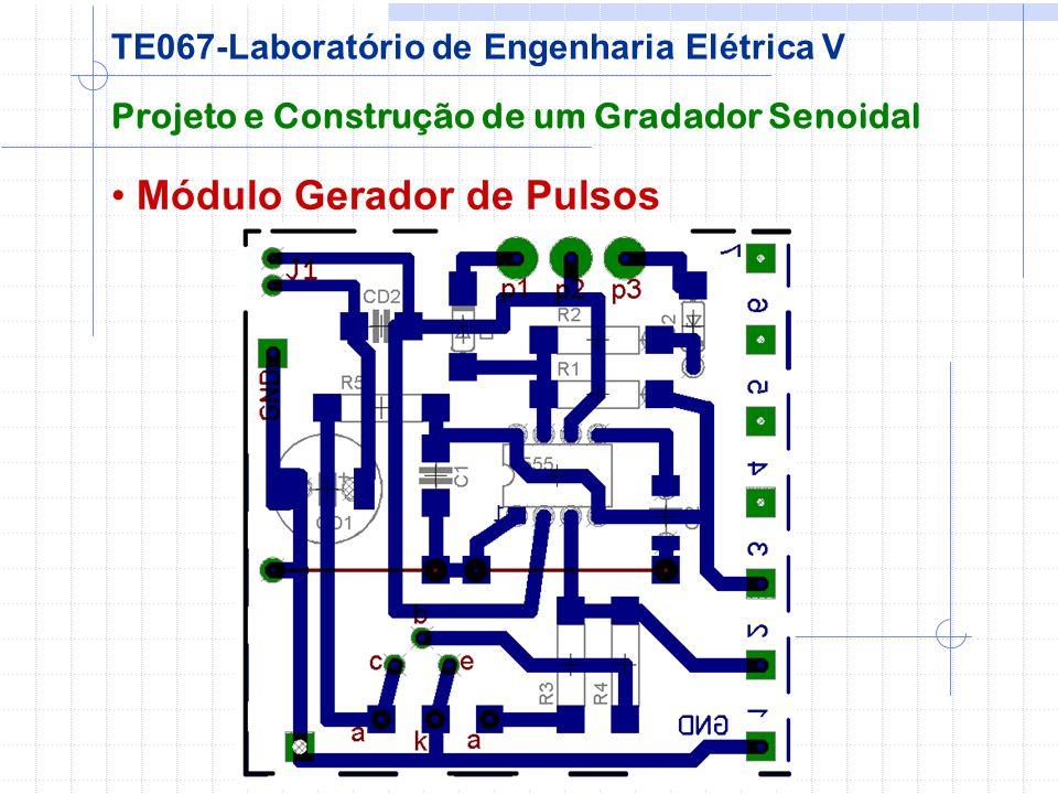 Módulo Gerador de Pulsos Projeto e Construção de um Gradador Senoidal TE067-Laboratório de Engenharia Elétrica V