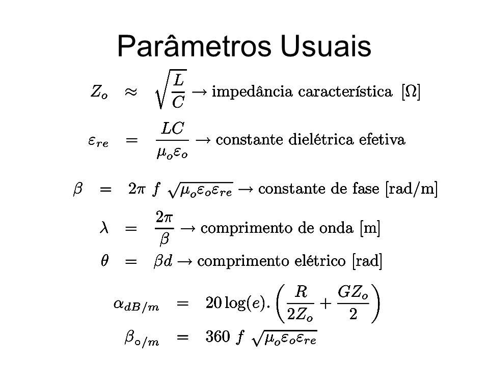 Parâmetros Usuais