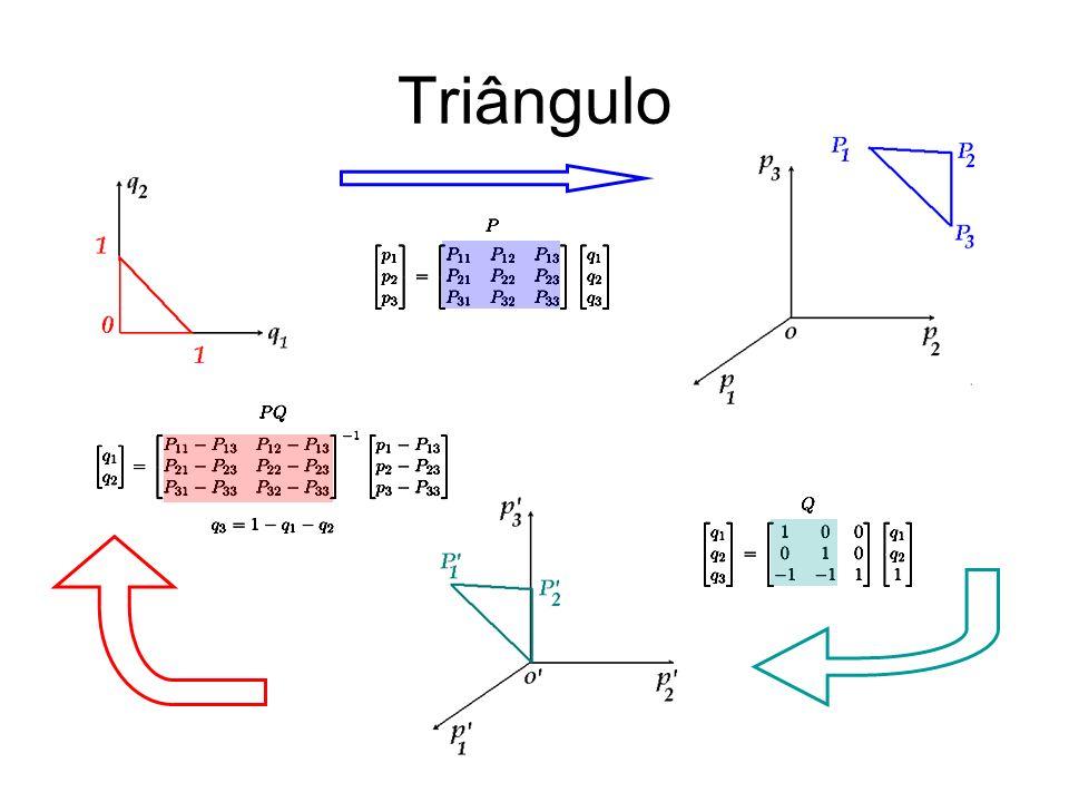 Forma-1 Função vetorial relacionada com arestas.Combinação linear dos gradientes.