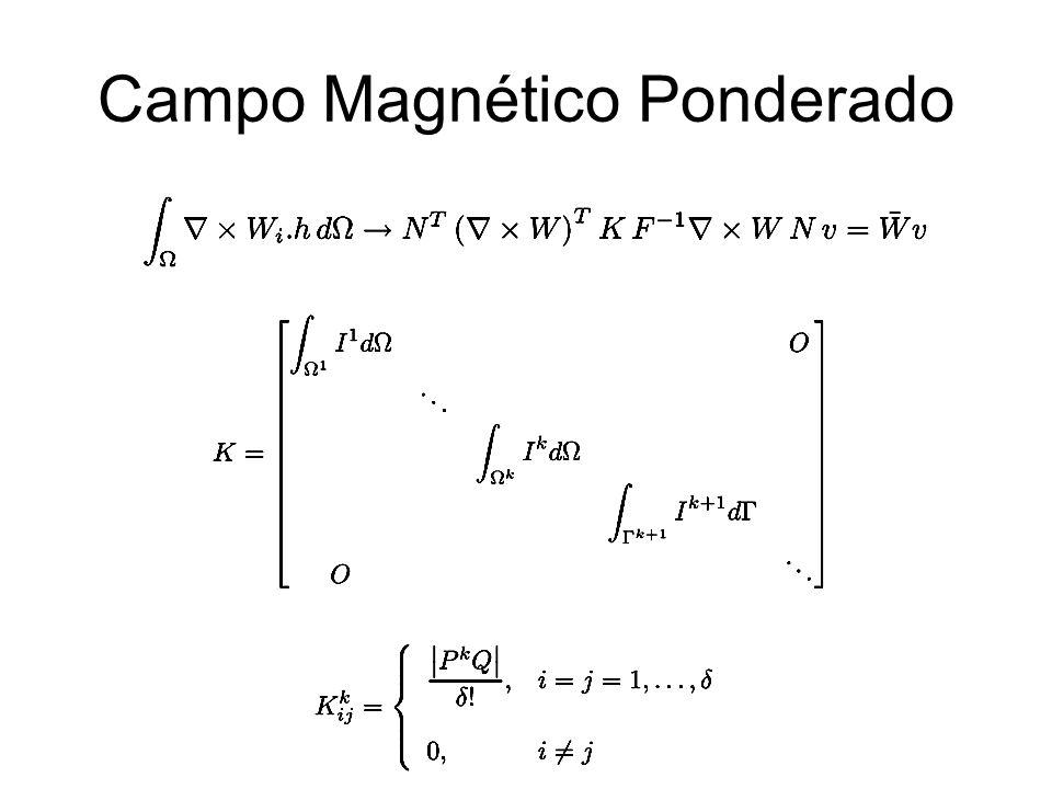 Campo Magnético Ponderado