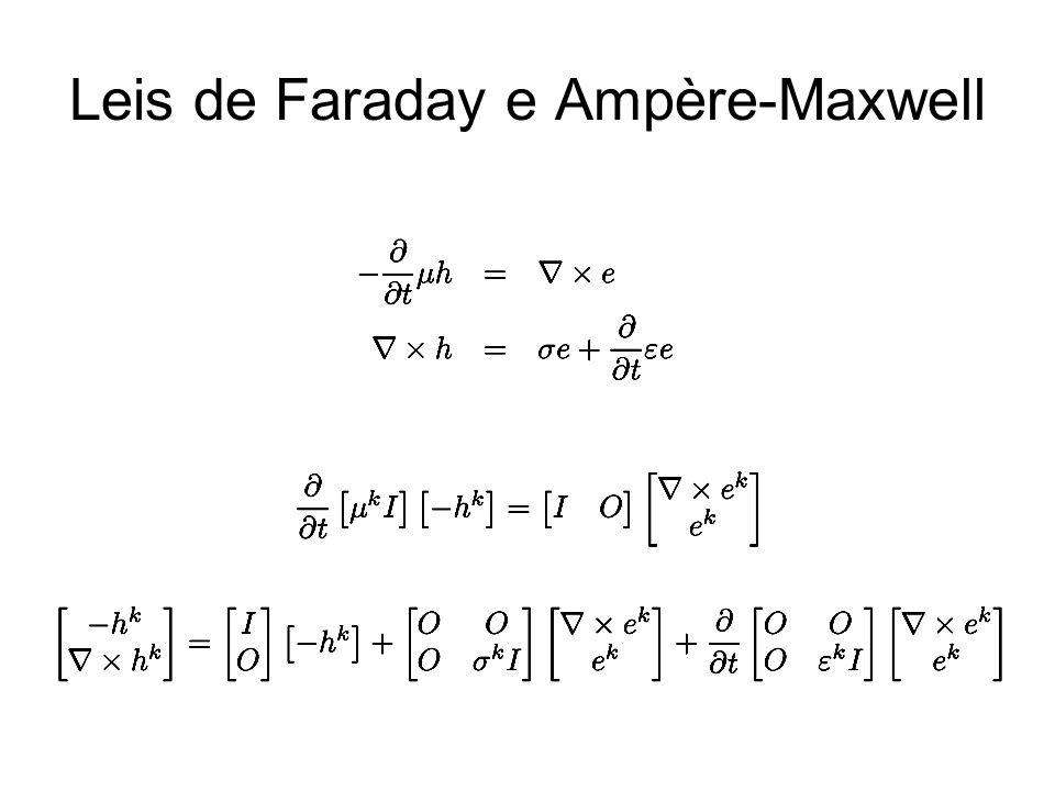 Leis de Faraday e Ampère-Maxwell