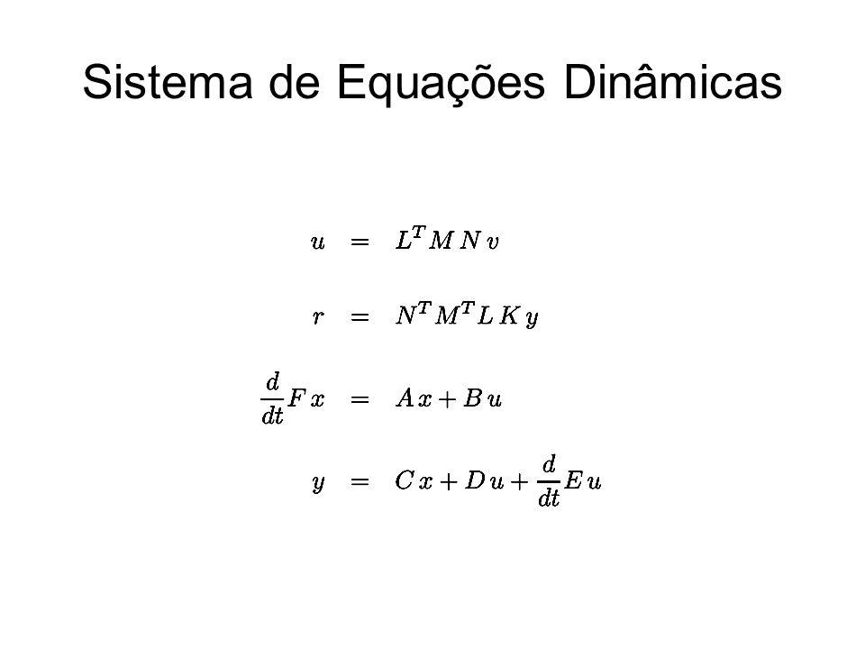 Sistema de Equações Dinâmicas