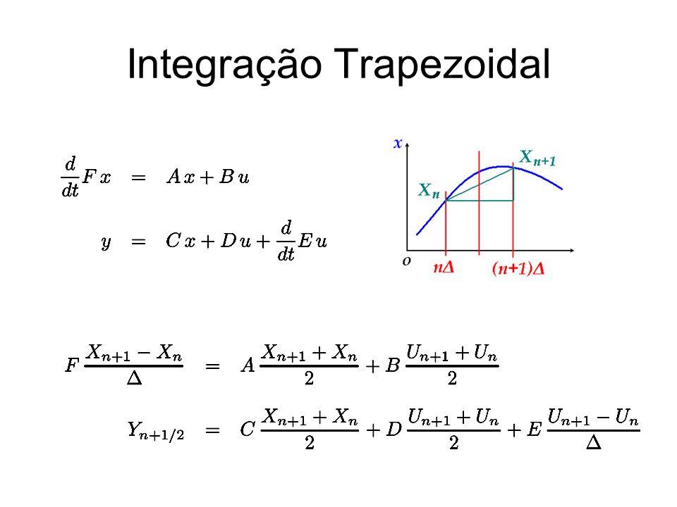 Integração Trapezoidal