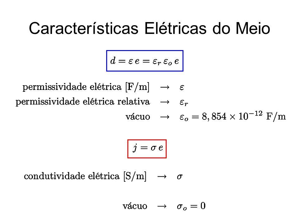 Características Elétricas do Meio