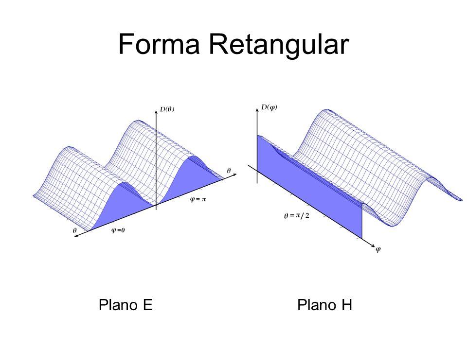 Forma Retangular Plano EPlano H
