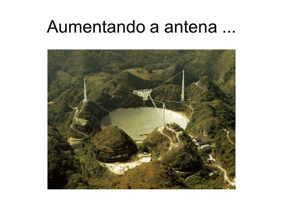 ... ou agrupando antenas
