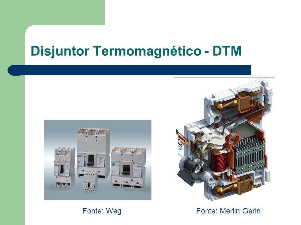 Disjuntor Termomagnético - DTM Fonte: WegFonte: Merlin Gerin