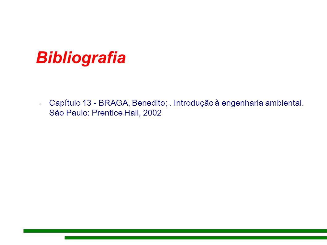 Bibliografia Capítulo 13 - BRAGA, Benedito;. Introdução à engenharia ambiental.