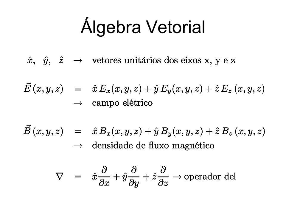 Álgebra Vetorial