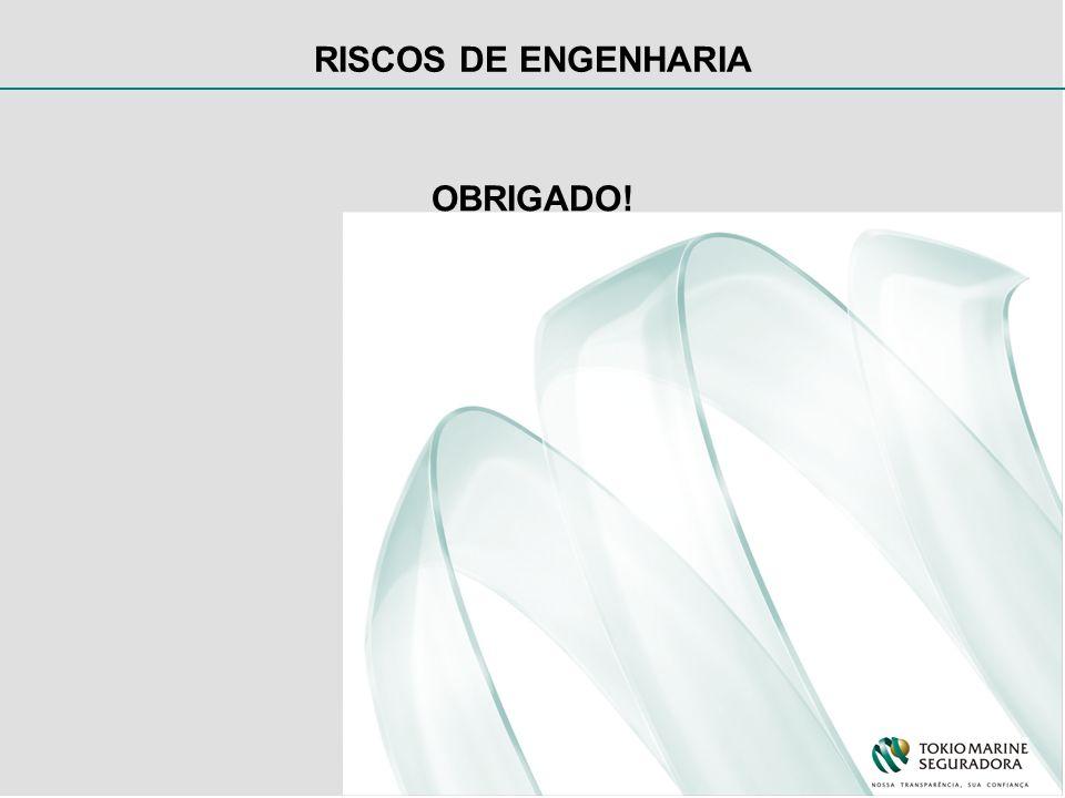 RISCOS DE ENGENHARIA OBRIGADO!
