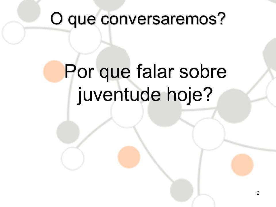 As juventudes - Bônus Demográfico? Pirâmide Etária – Brasil 1992 WWW.INFOJOVEM.ORG.BR13
