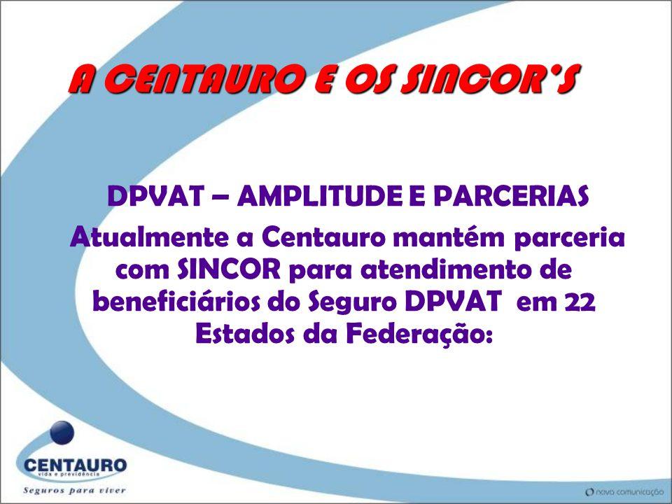 ATENDIMENTO CENTAURO AO DPVAT A Centauro é a líder nacional no atendimento a beneficiários do seguro obrigatório de veículos automotores - DPVAT dentr