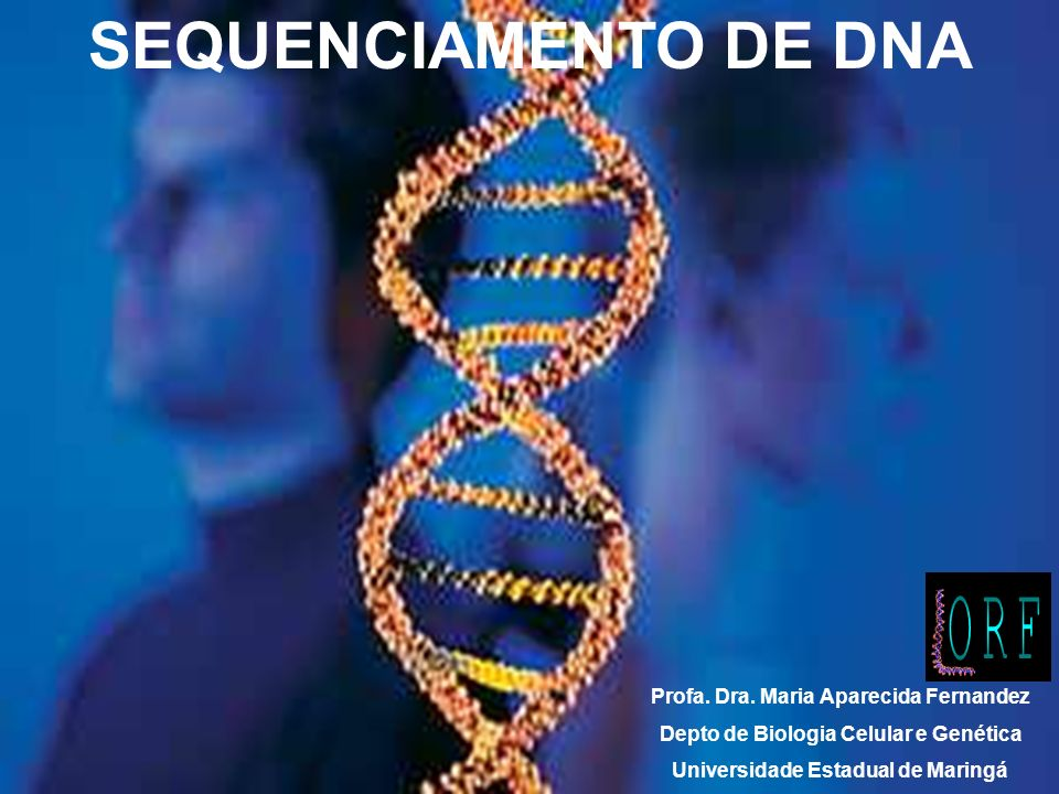 SEQUENCIAMENTO DE DNA Profa. Dra.