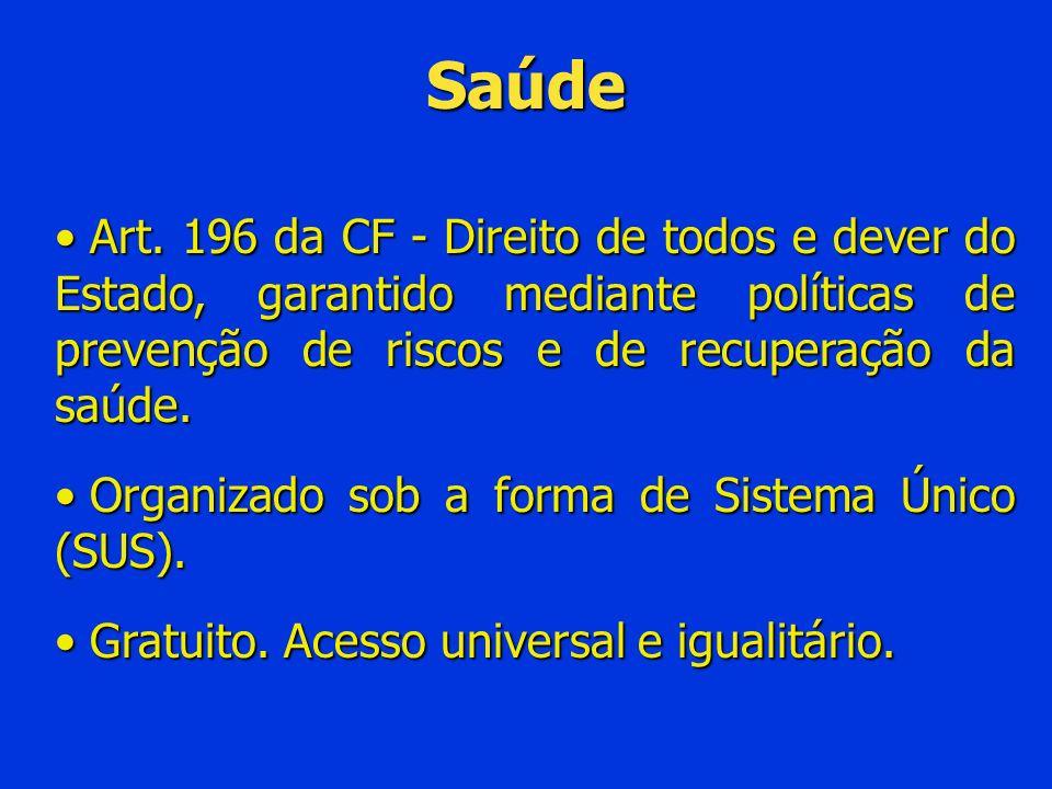 Assistência Social Direcionado aos necessitados, independente de contraprestação direta.