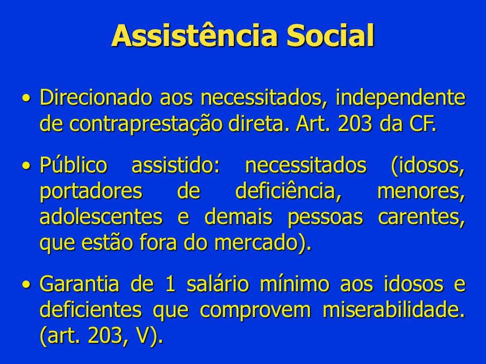 -Impossibilidade de conceder benefícios distintos dos previstos no RGPS -Vedação de concessão de aposentadoria especial enquanto não regulamentado o art.