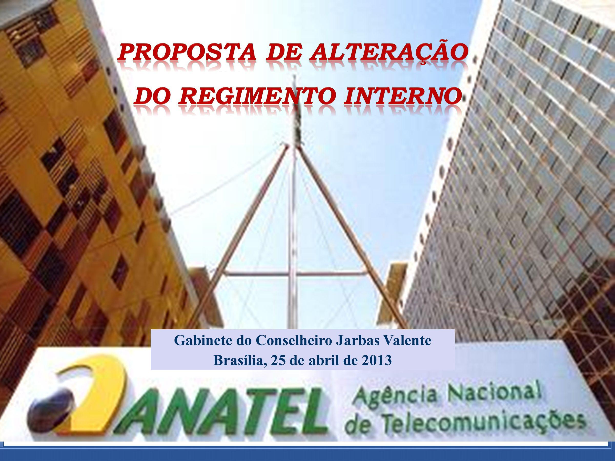 ADTOD Parte Processual Gabinete do Conselheiro Jarbas Valente Brasília, 25 de abril de 2013