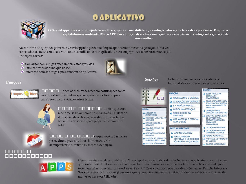 Aumentará a interatividade do usuário para que ele possa agrupar ou encontrar informações através de palavras-chave.
