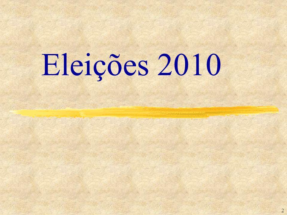Eleições 2010 TRIBUNAL REGIONAL ELEITORAL DO AMAZONAS ESCOLA JUDICIÁRIA