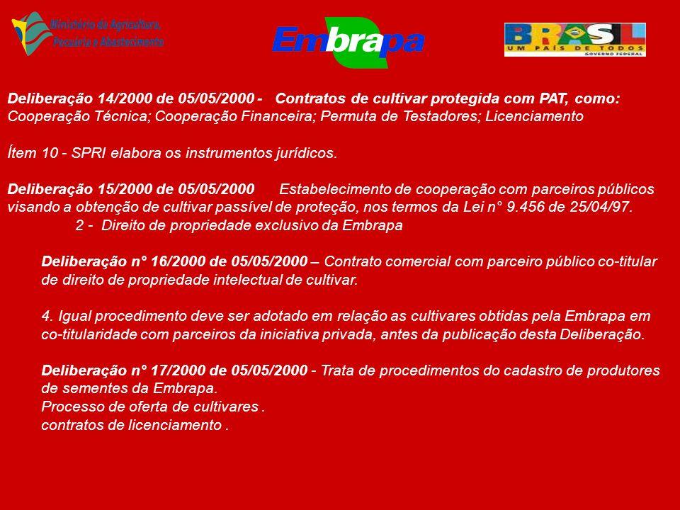 CONSTITUIÇÃO HIERÁRQUICA DA EMBRAPA (DECRETO N° 2.291, DE 04/08/1997 – ESTATUTO).