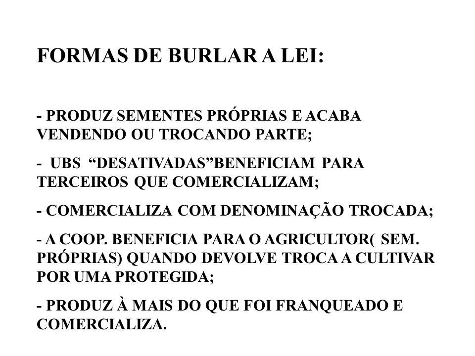 BENEFICIOS DA LPC - AUMENTO DOS INVESTIMENTOS EM PESQUISA - SURGIMENTO DE NOVAS EMPRESAS DE PESQUISA (ex. Fundações de pesquisa, CTPA) - AUMENTO DE CA