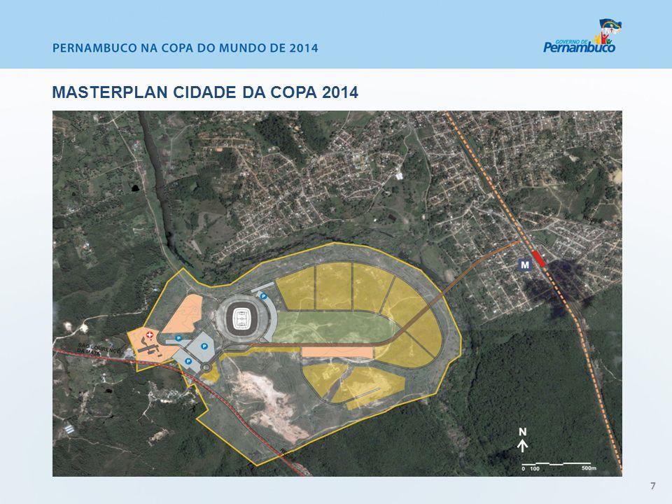 7 MASTERPLAN CIDADE DA COPA 2014