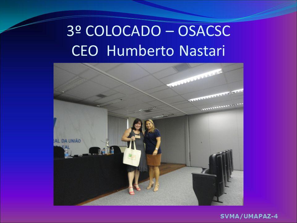 3º COLOCADO – OSACSC CEO Humberto Nastari SVMA/UMAPAZ-4