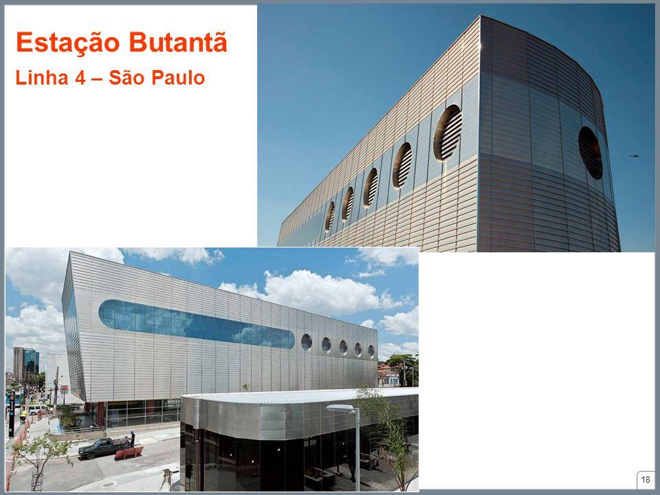 18 Estação Butantã Linha 4 – São Paulo