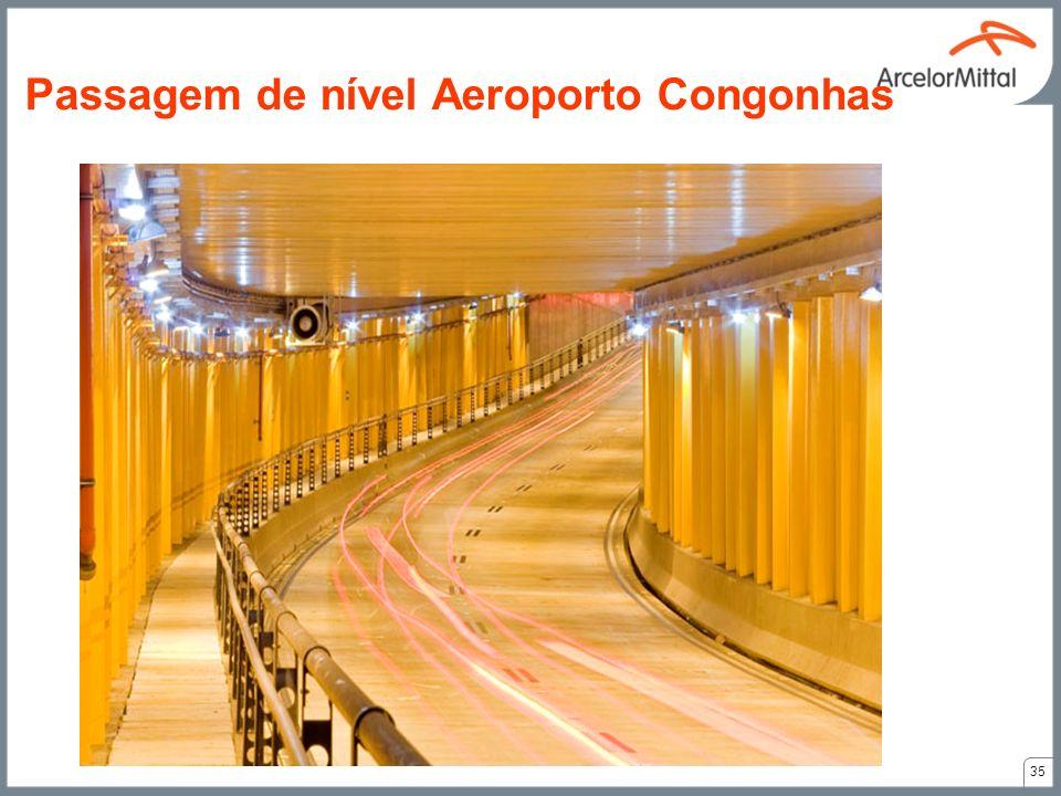 35 Passagem de nível Aeroporto Congonhas