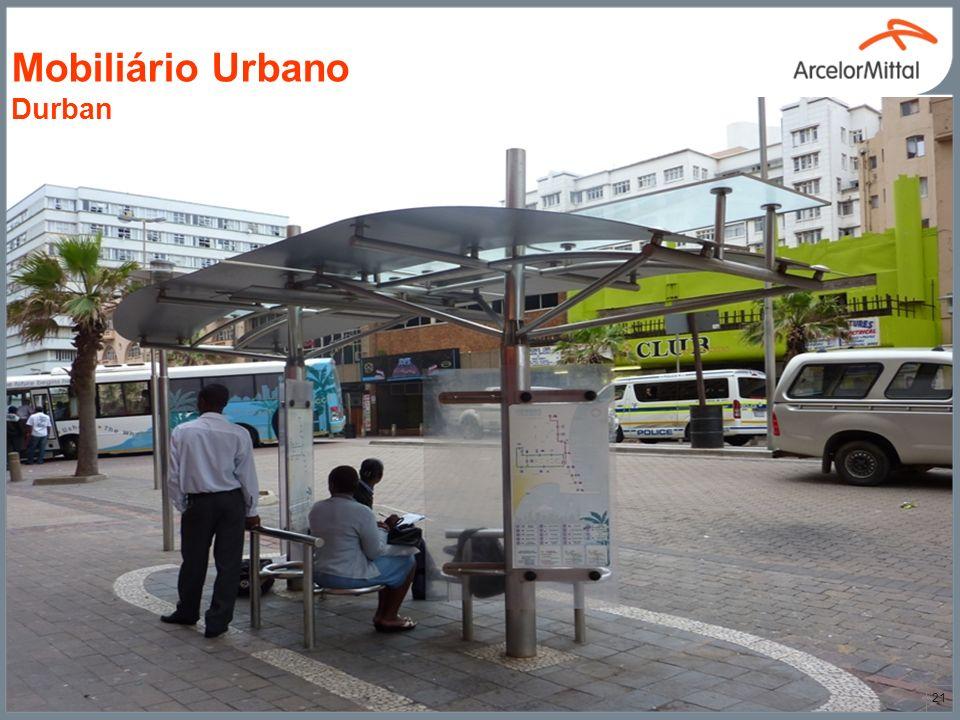 21 Mobiliário Urbano Durban