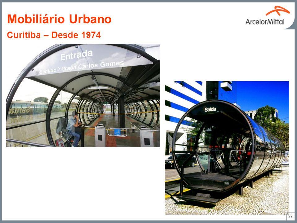 22 Mobiliário Urbano Curitiba – Desde 1974