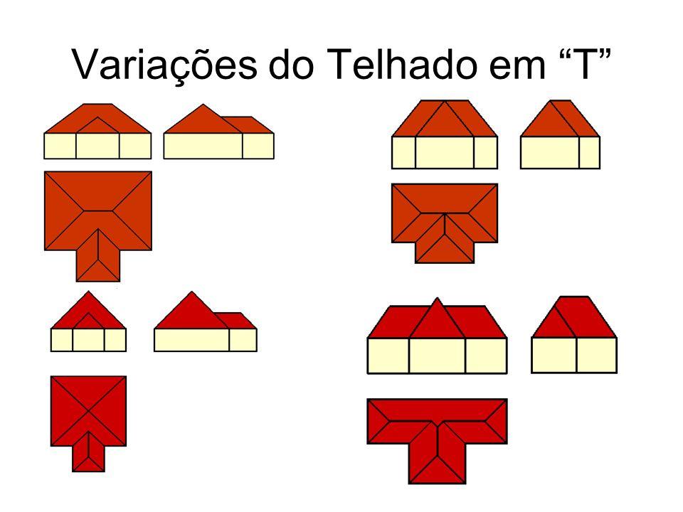 Variações do Telhado em T