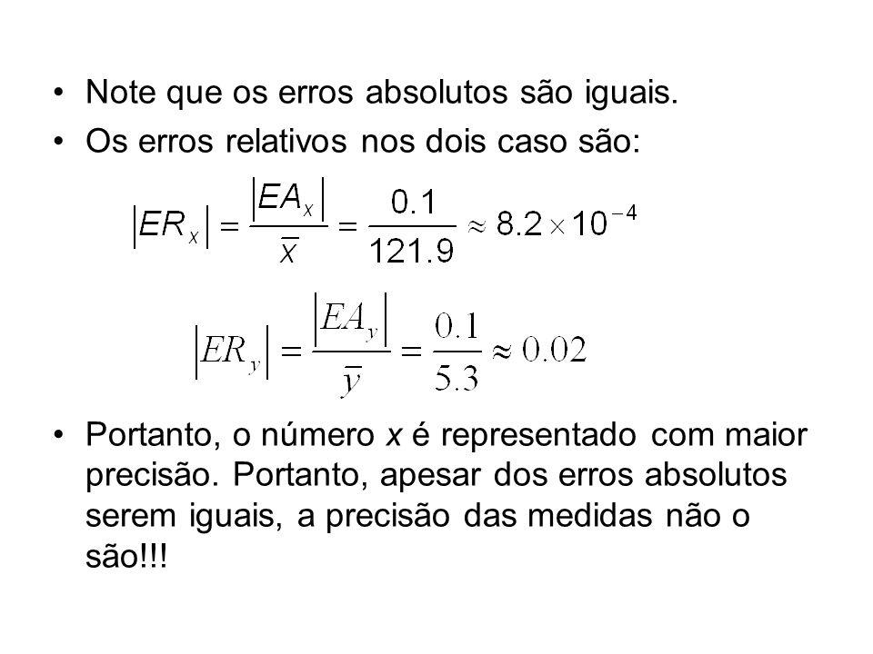 1.4 - Erros de arredondamento e Truncamento Sabemos que a representação de um número depende da máquina utilizada, pois seu sistema definirá a base numérica adotada, o total de dígitos na mantissa etc...