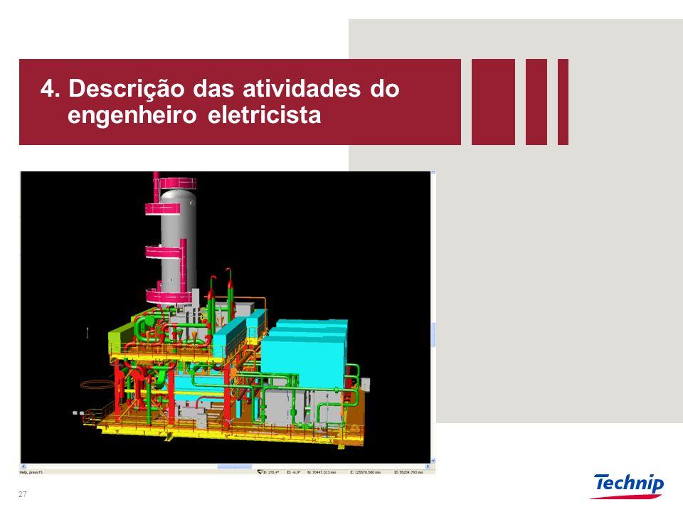 4. Descrição das atividades do engenheiro eletricista 28