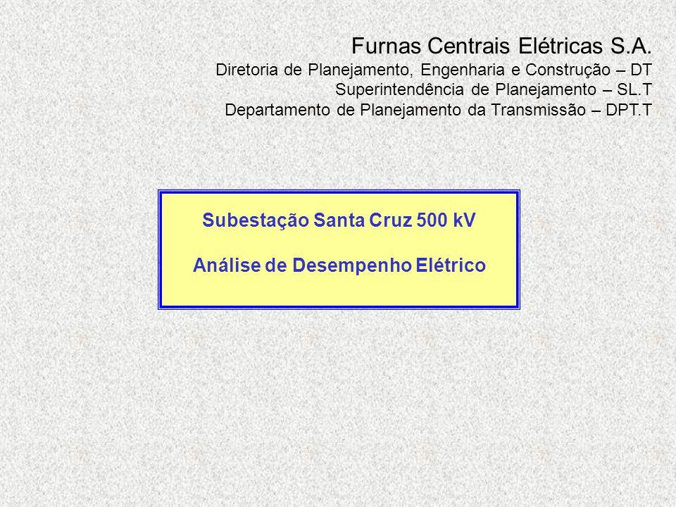 Furnas Centrais Elétricas S.A. Diretoria de Planejamento, Engenharia e Construção – DT Superintendência de Planejamento – SL.T Departamento de Planeja