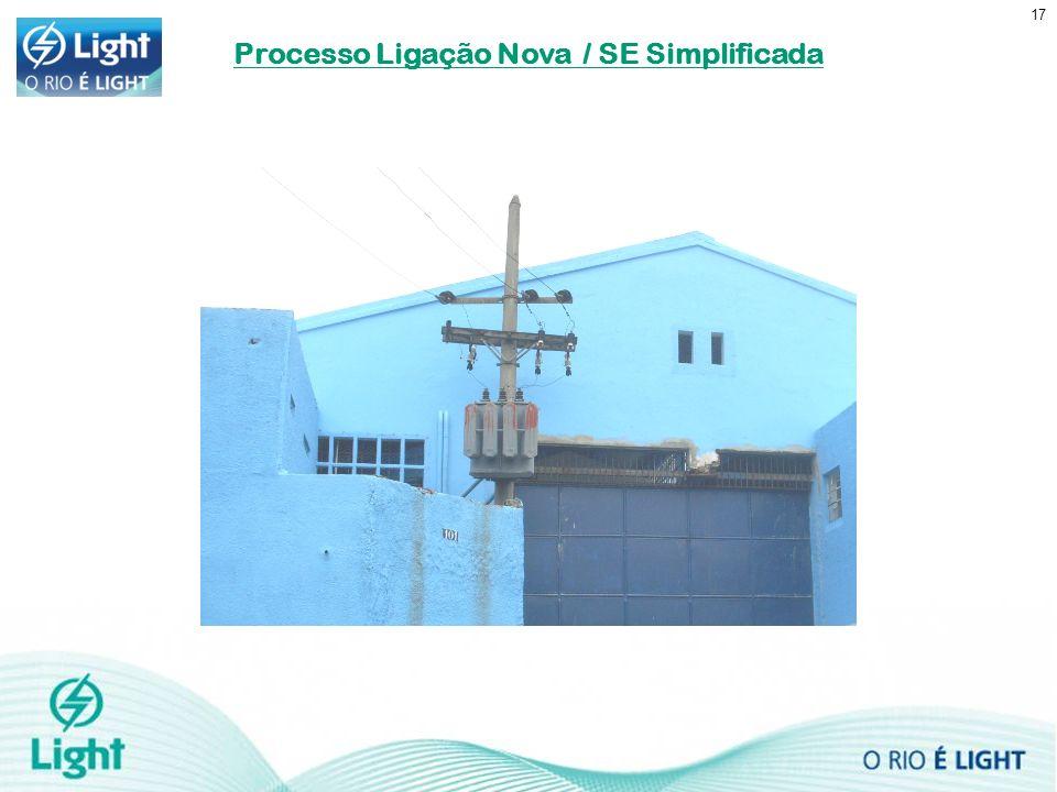 17 Processo Ligação Nova / SE Simplificada