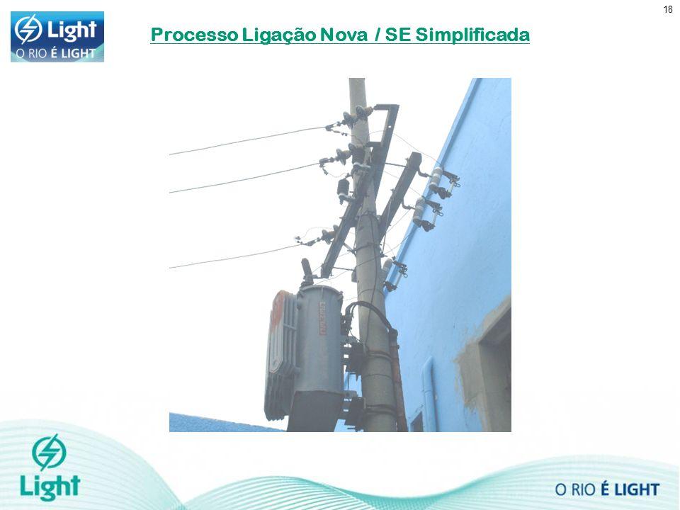 18 Processo Ligação Nova / SE Simplificada