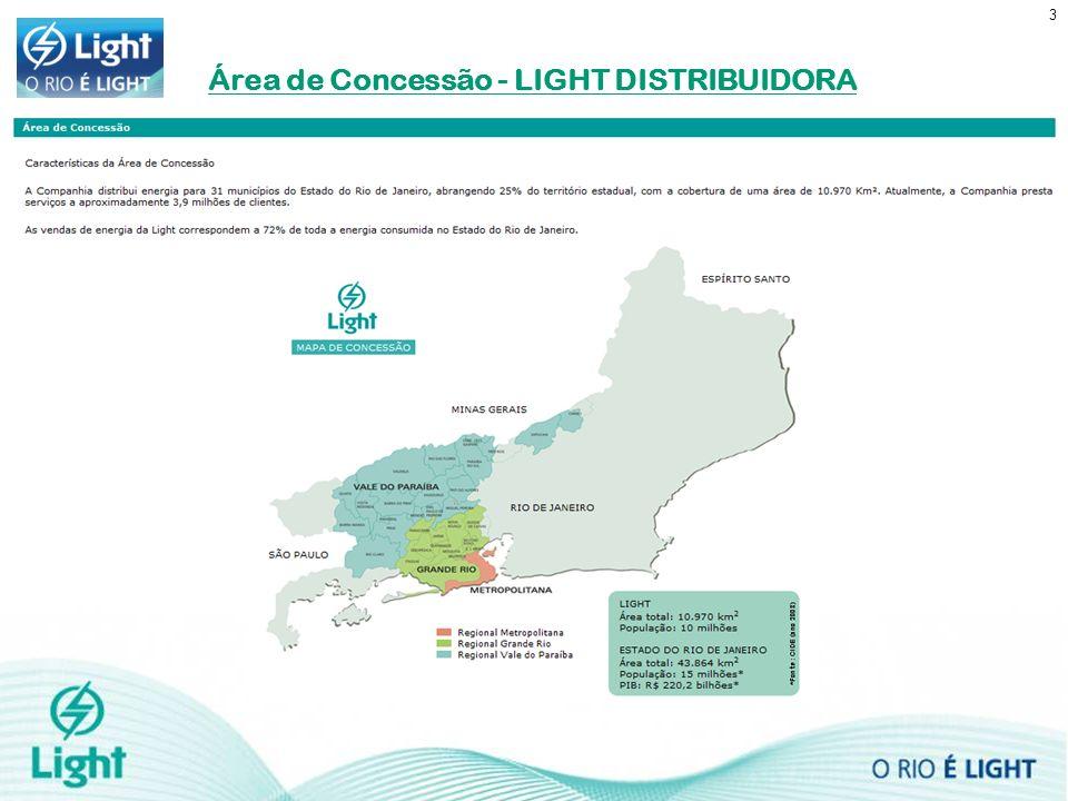 3 Área de Concessão - LIGHT DISTRIBUIDORA