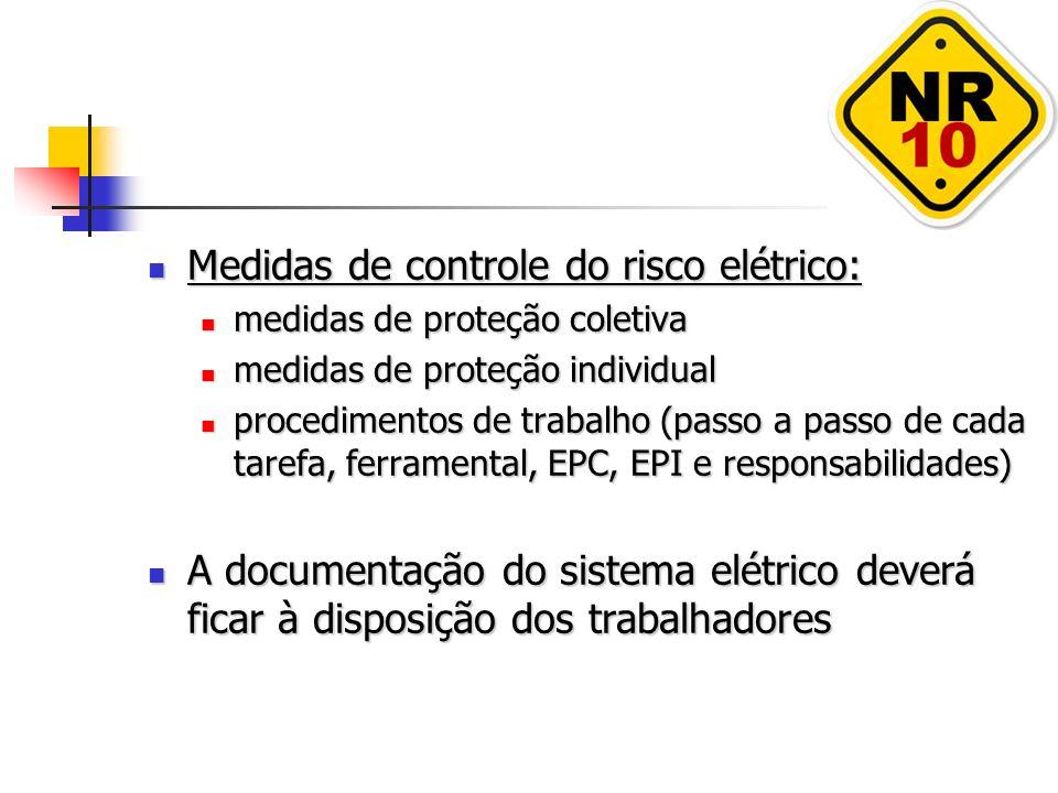 Medidas de controle do risco elétrico: Medidas de controle do risco elétrico: medidas de proteção coletiva medidas de proteção coletiva medidas de pro
