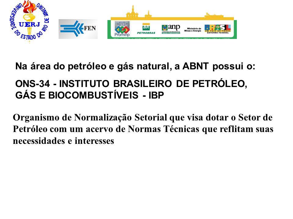Organismo de Normalização Setorial que visa dotar o Setor de Petróleo com um acervo de Normas Técnicas que reflitam suas necessidades e interesses Na
