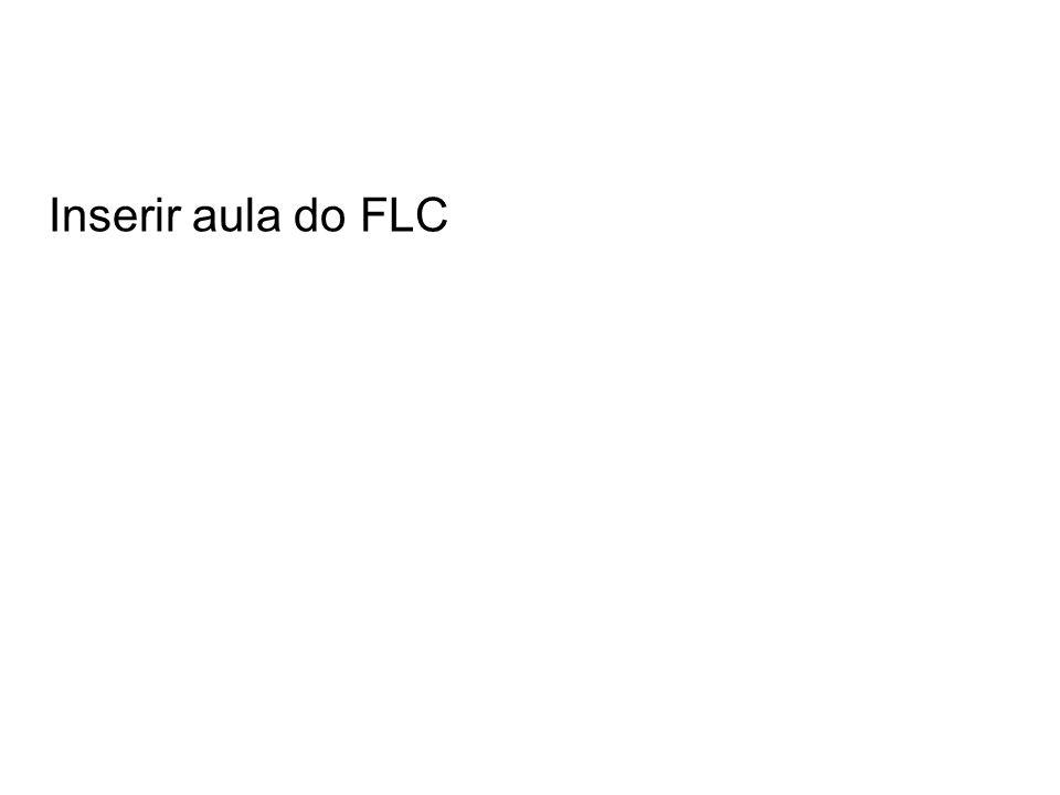 Inserir aula do FLC