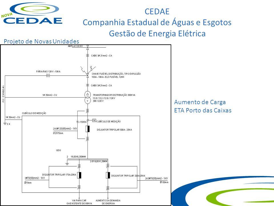 CEDAE Companhia Estadual de Águas e Esgotos Gestão de Energia Elétrica Visitas Técnicas Elev lameirão
