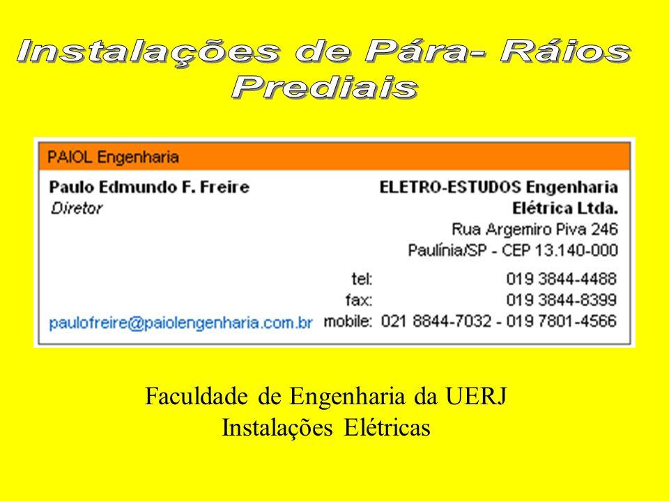 Faculdade de Engenharia da UERJ Instalações Elétricas